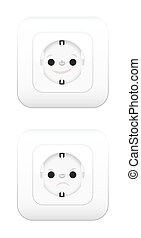 Power Usage Pros Cons Sockets Face - Sockets with face, one...