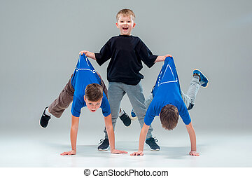The kids dance school, ballet, hiphop, street, funky and...