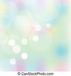 Abstract colorful blurred vector background with lights and...
