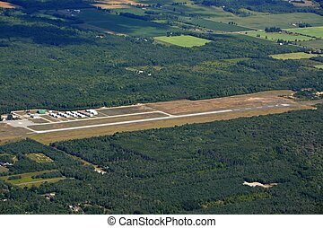 Huronia Airport aerial