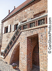 Lithuanian Gothic House - The part of the House of Perkunas...