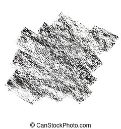 charbon de bois, tache,  Textured
