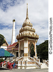 Wat Na Phra Men - Detail of the crematorium at Wat Na Phra...