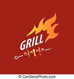 vector logo barbecue