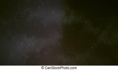 1, fält, rökig, stjärna, Slinga