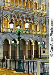 Lantern at Venetian Macao Casino and Hotel luxury resort...