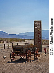 Stovepipe Wells way-station inside Death Valley National...