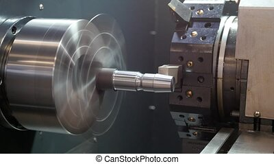 Rotated mechanism - automatic for machine processing of...