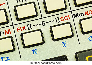 Education and science advancement - Function keys in a...