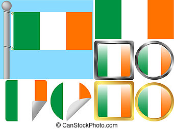 Ireland Flag Set