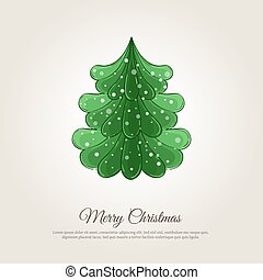 Merry Christmas Holiday Web Page Template