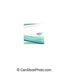 abstract blue lines background in wave style