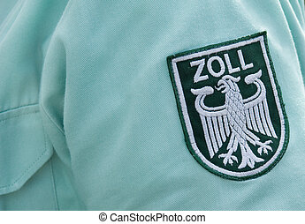 Tollkeeper - Label on a shirt of a german Tollkeeper