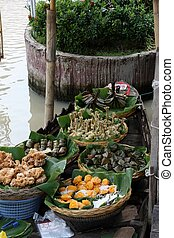 floating market - The floating market
