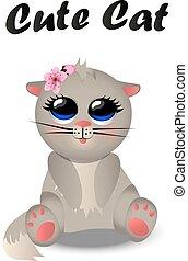 Cute cat pattern