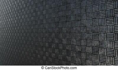 Dark steel square pattern background loop
