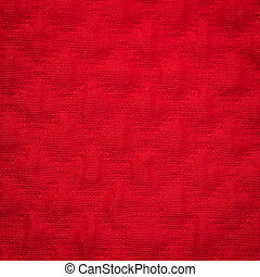 Canvas fabric texture - Rustic canvas fabric texture in red...
