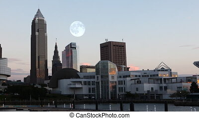 Full Moon over Cleveland - A Full Moon over Cleveland