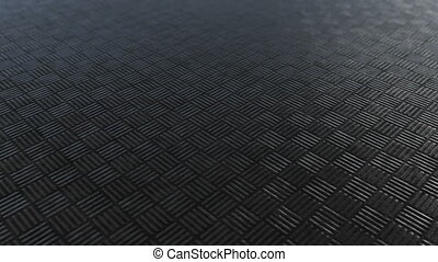 Dark metallic square pattern background loop - Dark metallic...