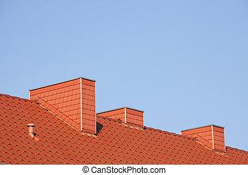 Dach, Schornsteine