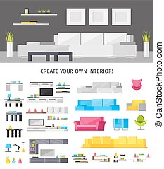 Home Interior Orthogonal Concept - Home interior orthogonal...