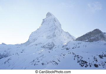 Matterhorn - das Matterhorn vom Schwarzsee aus gesehen