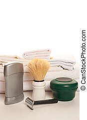 shaving tools isolate