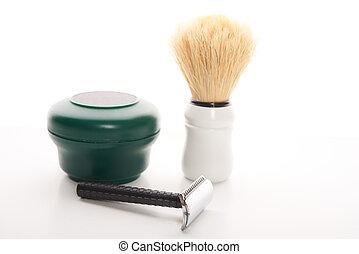 attrezzi, isolare, rasatura