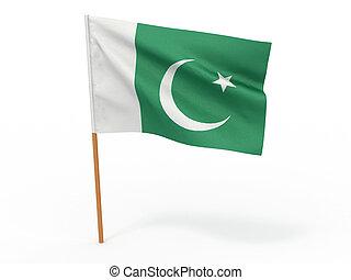 Flag of Pakistan 3d