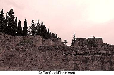 abandoned historical village