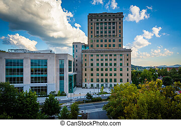 View of the Buncombe County Courthouse, in downtown...