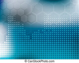 abstract background blue technology