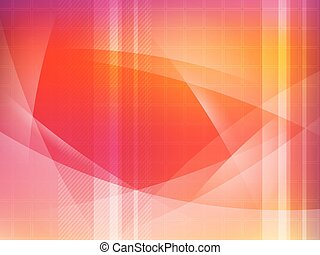 Abstract red yellow background  glow vector illustration