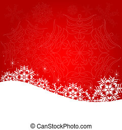 Christmas red postal - Christmas bred postal