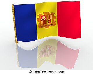 Andorra. National Flag