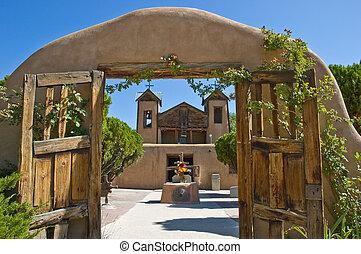 Santuario de Chimayo - Historic El Santuario de Chimayo in...
