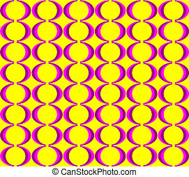 Colorful seventies seamless pattern