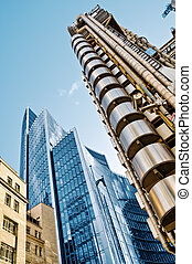 Lloyds and Willis Building, London - The Lloyds Building...