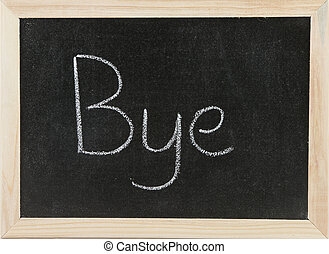 Board with Bye.