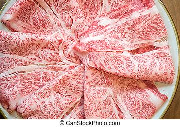 Beef texture