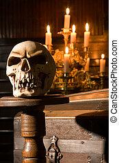 Halloween, cráneo
