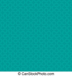 Turquoise Neutral Seamless Pattern for Modern Design in Flat Style.