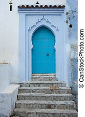 Doors in chefchaouene