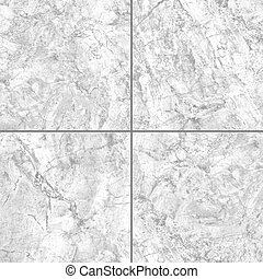 Four different white marble texture. (high.res.)