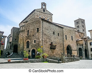 HDR View of Anagni - High dynamic range (HDR) View of the...