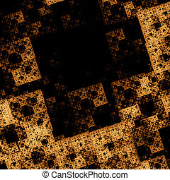 Beautiful abstract image. Computer generated pattern with...