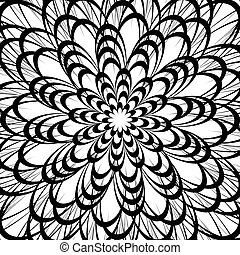 Artistic geometric pattern, texture with random lines....