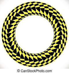 Geometric circle element(s). Abstract circular shape