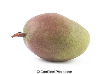 Freshness mango on white background