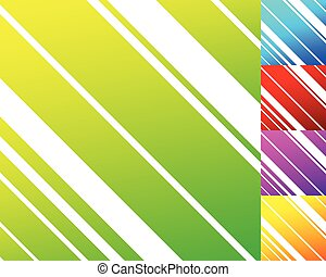 Vivid colorful pattern in 5 color with slanting dynamic lines, stripes. Random lines pattern